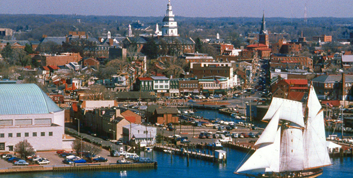 Annapolis Capitol and Pride of Baltimore II